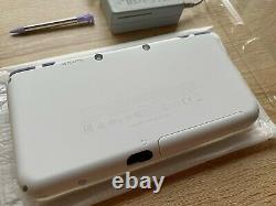 New Nintendo 2DS LL XL White Lavender Console Boxed with Charger Japanese Version