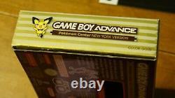 Nintendo GameBoy Advance GBA Pokemon Center New York Version Gold BOX/Books ONLY