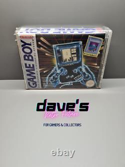 Nintendo Gameboy Classic Tetris Version GB Ovp Cib Pal Mint Top + Pataco Box
