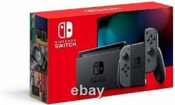 Nintendo Switch 32GB Console Gray Joy-Con New Version Red Box
