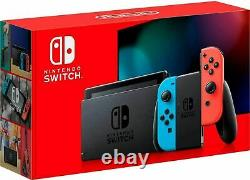 Nintendo Switch Console Improved Battery Version 32GB Open Box Mint Condition