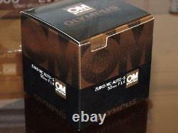 OLYMPUS OM ZUIKO 50mm F1.4 LENS NEW IN BOX MC VERSION