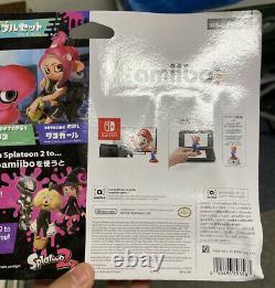 Octoling 3-Pack Amiibo Nintendo Switch Splatoon 2 Series US Version BOX WEAR
