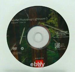 Original Adobe Photoshop Lightroom 5 DVD Retail Vollversion Windows & Mac OS