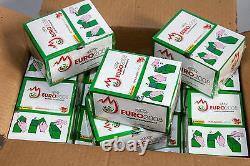 Panini EM EC Euro 2008 12 x Display Box GRÜN GREEN SHINY GLITZER VERSION RARE