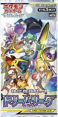 Pokemon Card Game Sun & Moon DREAM LEAGUE 1 Box SM11b Japanese Version with Shrink