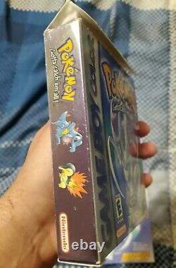 Pokemon Crystal Version CIB Complete in BoxNEW battery (Game Boy Color, 2001)
