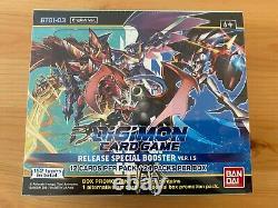 Pokemon DIGIMON BOOSTER BOX VERSION 1.5 BT01-03 24 PACKS SEALED ++ON HAND++