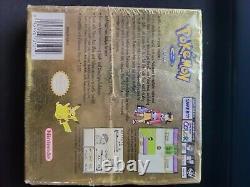 Pokemon Gold Version New in box SEALED (Game Boy Color, 2000)