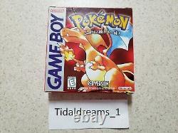 Pokemon Red Version (Complete in Box) 1st Print Sandshrew New Save Battery