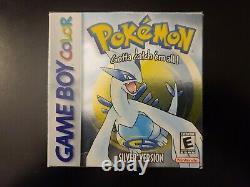 Pokemon Silver Version Nintendo Gameboy Color GBC CIB Complete In Box NEW BATT