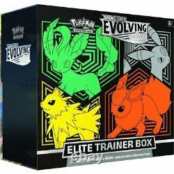 Pokemon TCG Evolving Skies ETB Elite Trainer Box BOTH VERSIONS Preorder 8/27