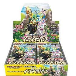 Pokémon TCG Sword & Shield Eevee Heroes Expansion Set Japanese Version Sealed