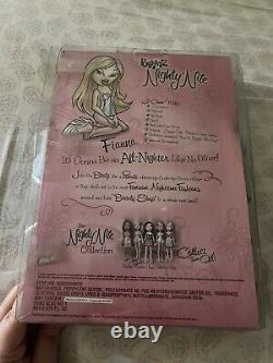 RELIST NIB New In Box Bratz Nighty Nite Fianna Doll MGA 2004 Version Rare