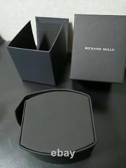 RICHARD MILLE watch travel case box/pouch BLACK VERSION New yzk30