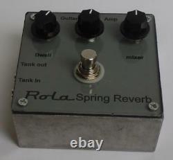 Rola analogue spring line stomp box new universal version
