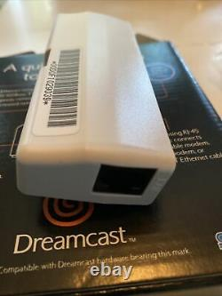 Sega Dreamcast Broadband Adapter New with Box & Instructions US Version Official
