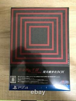 Shin Megami Tensei 3 NOCTURNE HD REMASTER Reality Makaikai BOX PS4 version NEW