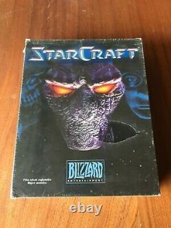 StarCraft (PC, 1998) ULTRA RARE Finnish version FACTORY SEALED BIG BOX