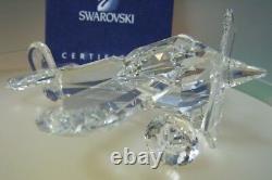 Swarovski Silver Crystal Airplane Version 2 152111 Mint In Box