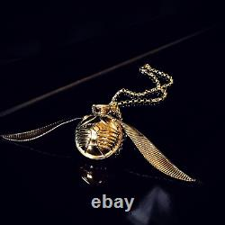 The Golden Snitch Ring Box (Pendant Version)