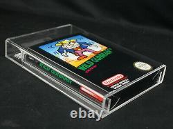 Wild Gunman Nintendo NES Black Box VGA Graded Gold Level 85+ NM+ Spanish Version