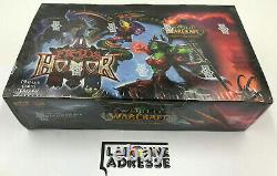 World of Warcraft WoW TCG Fields of Honor Booster Box SEALED ENGLISH VERSION JCC