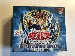 Yu-Gi-Oh Legend of Blue-Eyes White Dragon Sealed Booster Box Asian version japan