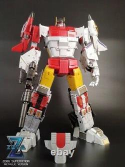Zeta Toys ZB-06 Superitron Superion Metallic full paint version gift box reprint